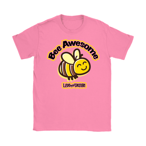 Love and Design Bee Awesome Womens T-Shirt