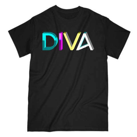 Love and Design DIVA Music and Dance Love ands Design T-Shirt
