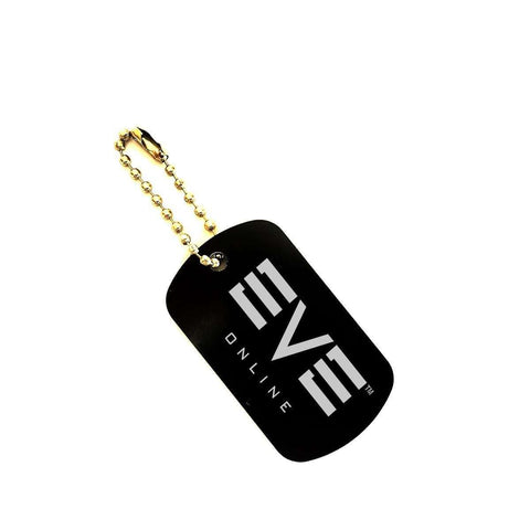 Love and Design EVE ONLINE Game Dog Tag KeyChain