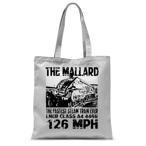 The Mallard - The Fastest Steam Train Ever Tote Bag