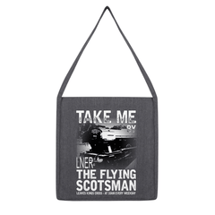 Take Me By The Flying Scotsman Tote Bag