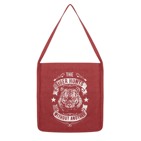 The Tiger Hunts alone - Plain Tote Bag