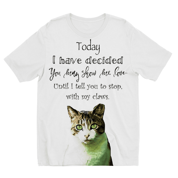 Cat Claws Kids Sublimation TShirt