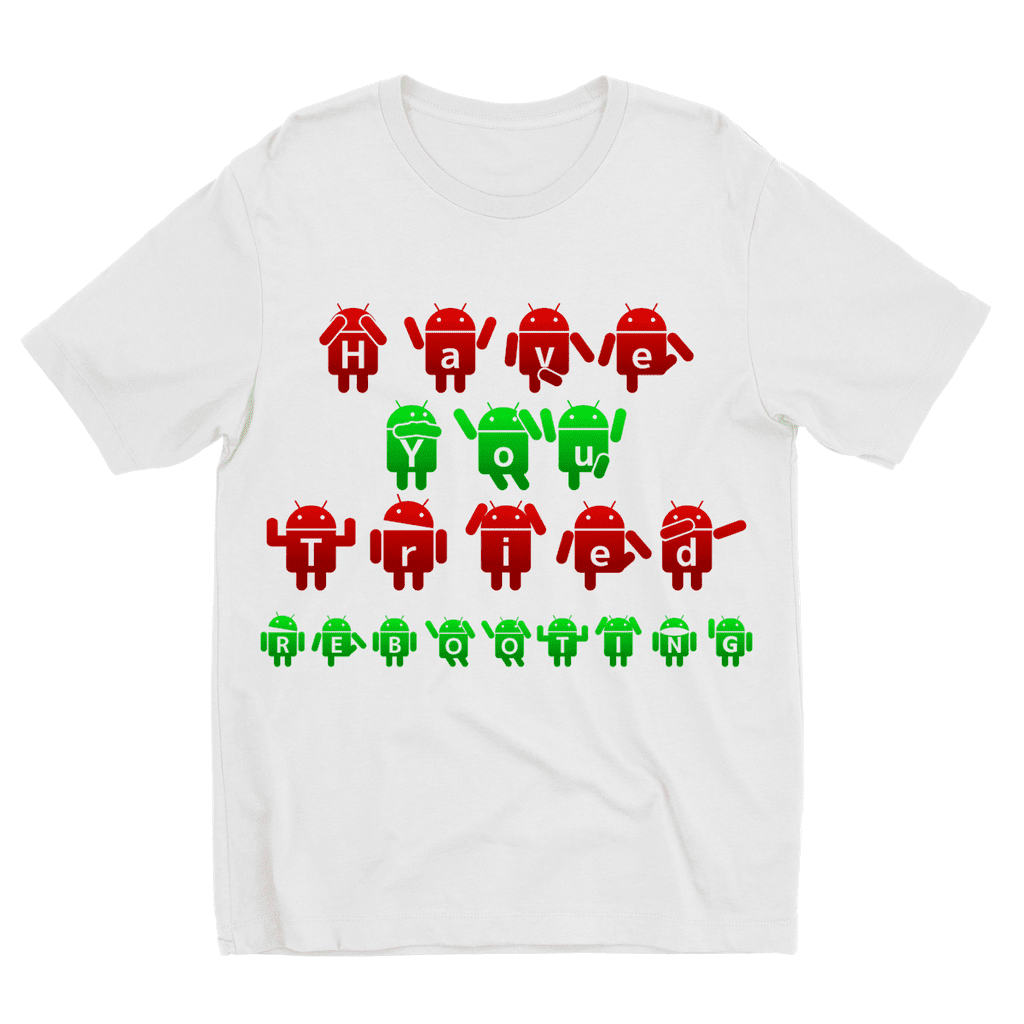 Computer, Have you tried rebooting? Kids Sublimation TShirt