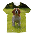 Love and Design Beagle Sublimation T-Shirt