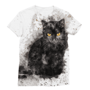 Love and Design The Cat Sublimation T-Shirt