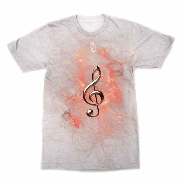 Music Sublimation T-Shirt