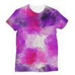 Purple and White Sublimation T-Shirt