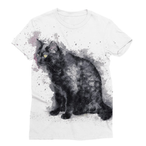 The Cat Sublimation T-Shirt
