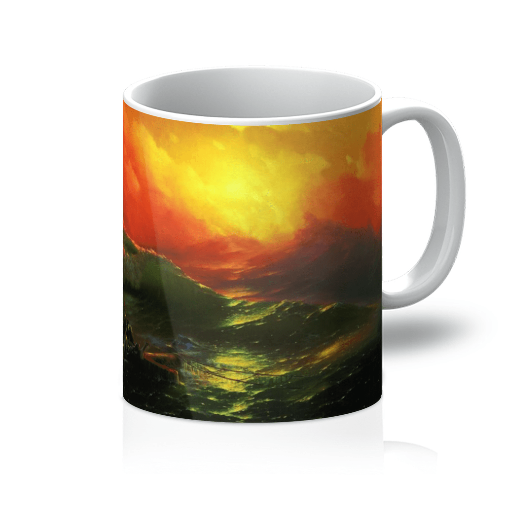 The 9th Wave by Ivan Aivazovsky Mug