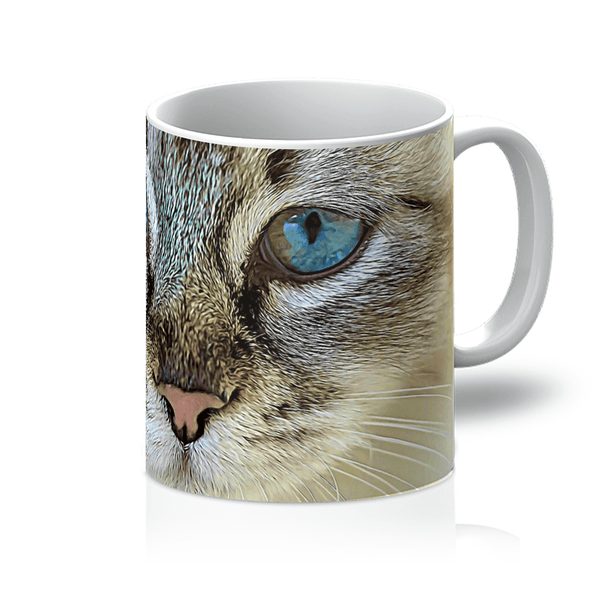 The Cat Face Mug