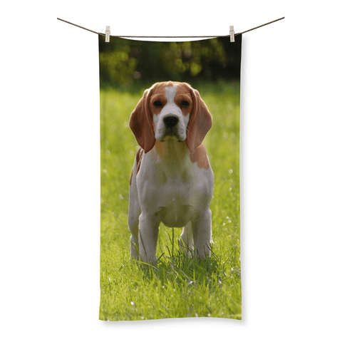 Beagle Beach Towel