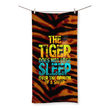 The Tiger Does Not Lose Sleep Over the Opinion of Sheep Beach Towel