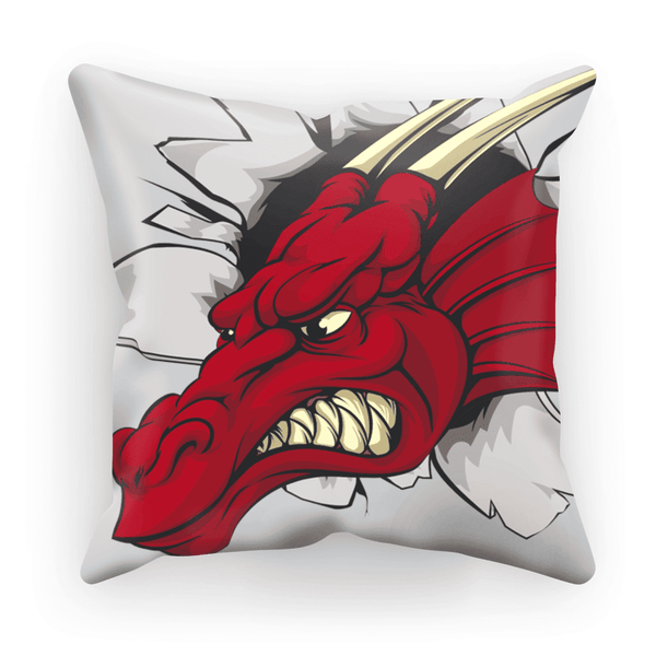 Dragon's Head Cushion