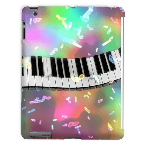 Piano Keyboard Tablet Case