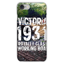 Victoria 1931 Royalty Class Working Boat Phone Case