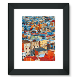 City Framed Fine Art Print