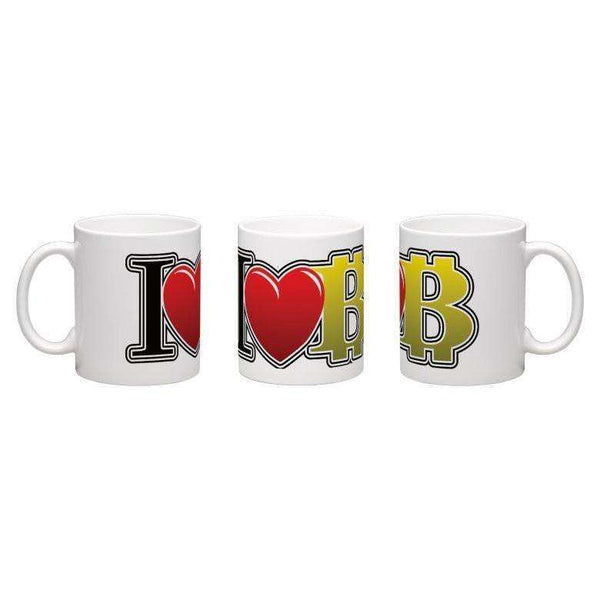 Exclusive Mug - I Love BItcoin