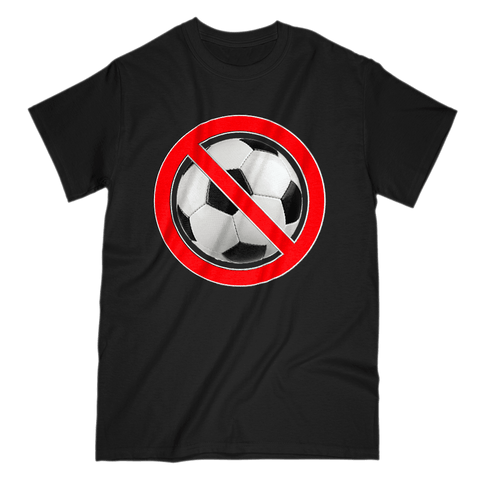 Love and Design No Football T-Shirt