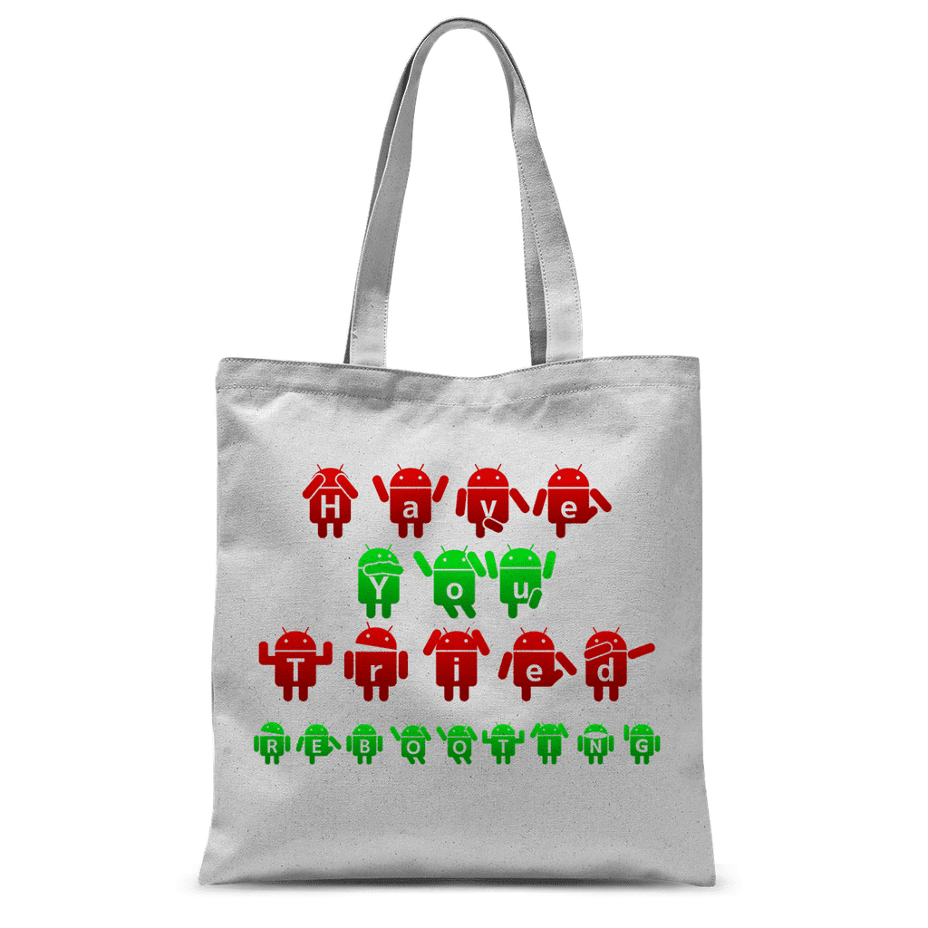 Computer, Have you tried rebooting? Tote Bag