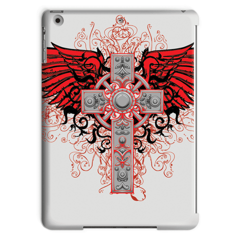 Love and Design Brand - Cross and Wings Courage Tablet Case