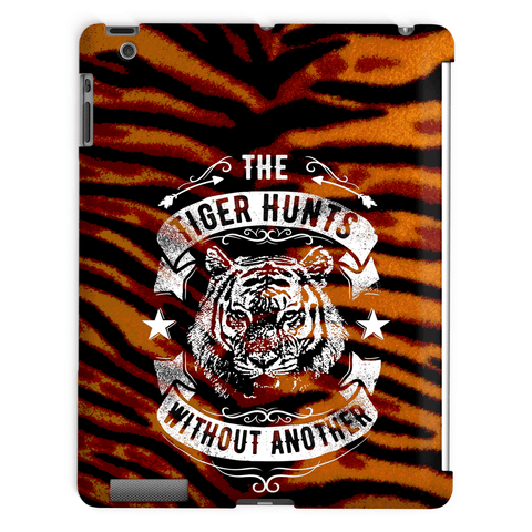 The Tiger Hunts Without Another Tablet Case