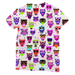 Owl Pattern Sublimation T-Shirt