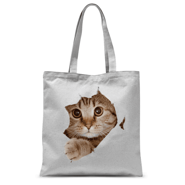 Love and Design The Cat Escapes Tote Bag