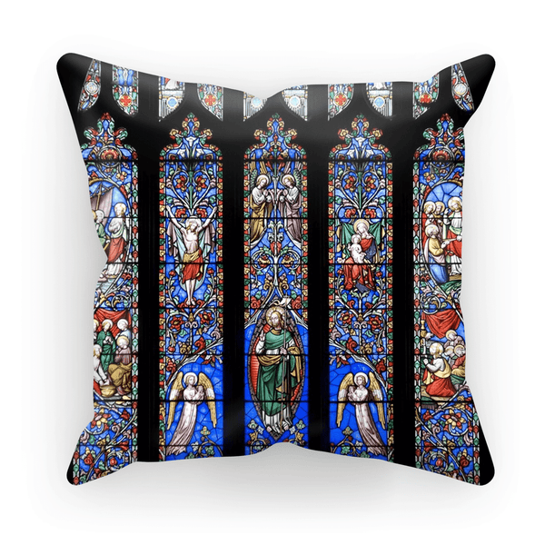 Stained Glass Pattern Cushion