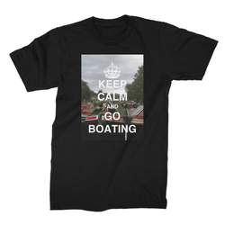 Boating Unisex Fine Jersey T-Shirt