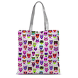 Owl Pattern Tote Bag