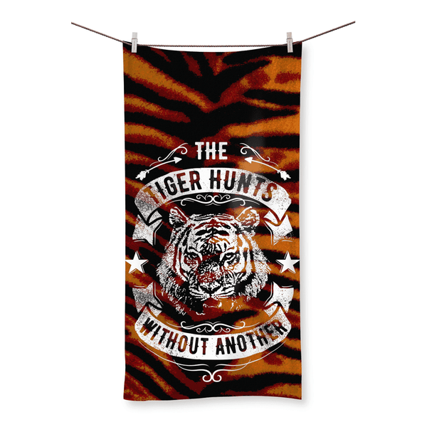 The Tiger Hunts Without Another Beach Towel