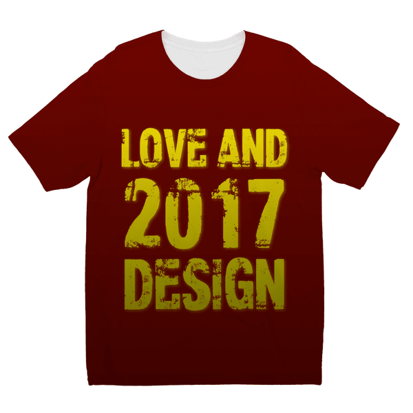 Love and Design 2017 Love and Design 2017 Kids Sublimation TShirt