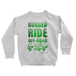Rugged Ride Off-Road 4x4 Love and Design Brand Kids Sweatshirt