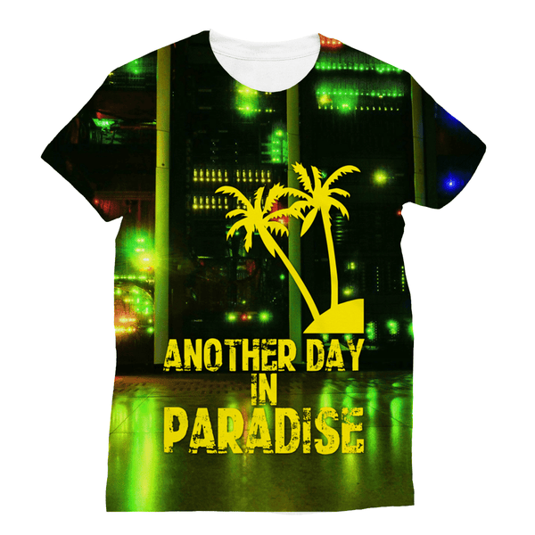 Love and Design Brand - Another Day In Paradise - Computer/IT Staff Sublimation T-Shirt