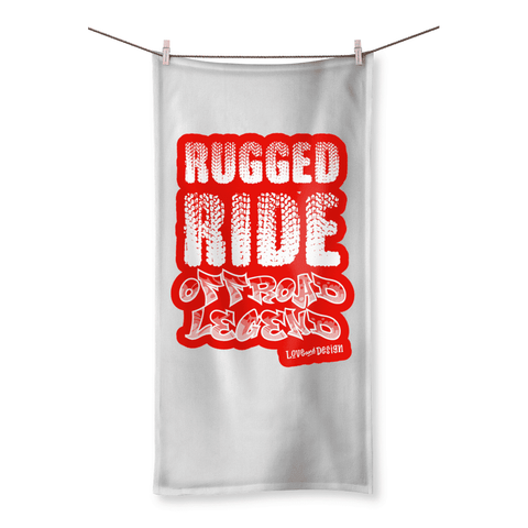 Love and Design Love and Design Rugged Ride Off-Road Legend Beach Towel