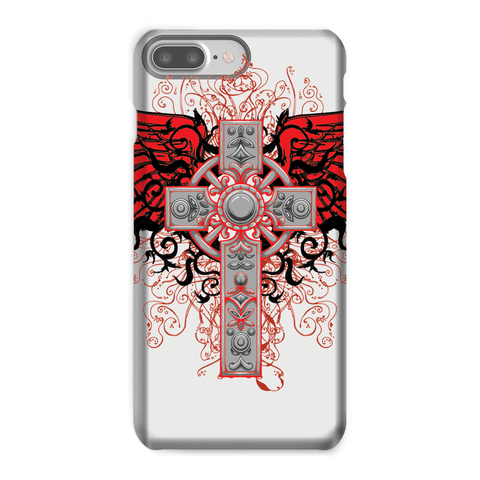 Love and Design Brand - Cross and Wings Courage Phone Case