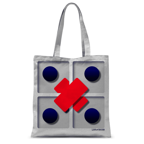 Slightly Odd 3d Effect Tote Bag