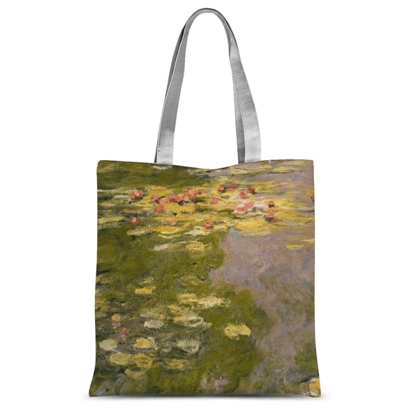 Water Lillies by Claude Monet Tote Bag