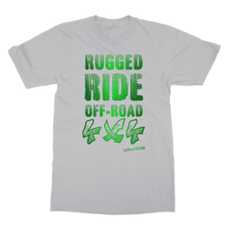 Rugged Ride Off-Road 4x4 Love and Design Brand Softstyle Ringspun T-Shirt