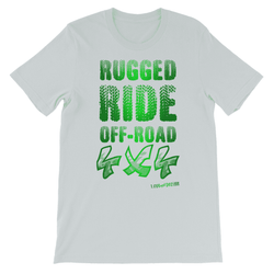 Rugged Ride Off-Road 4x4 Love and Design Brand Kids TShirt