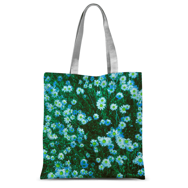 Love and Design Daisy Blue Tote Bag