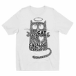 Cat Words Kids Sublimation TShirt