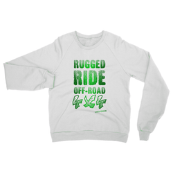 Love and Design Rugged Ride Off-Road 4x4 Love and Design Brand Heavy Blend Crew Neck Sweatshirt