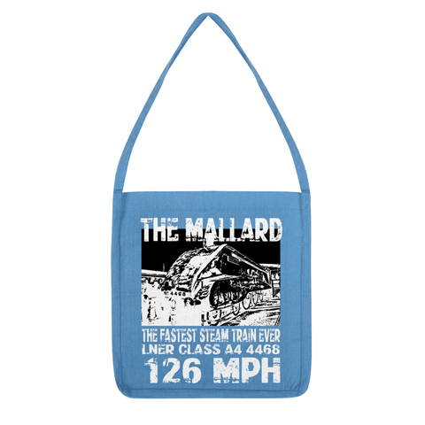 Love and Design Brand - The Mallard 126 MPH Steam Train Tote Bag