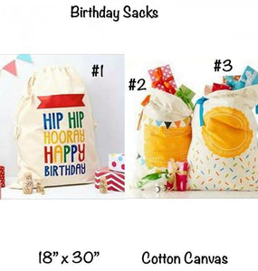 Birthday Bags