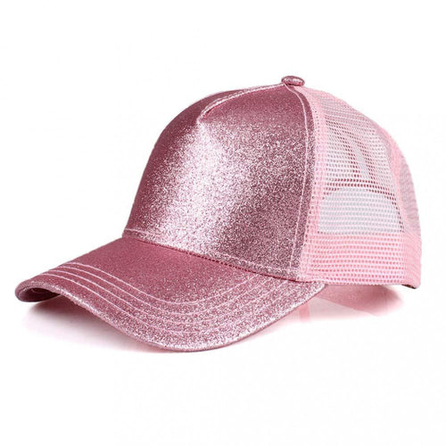 Glitter Ponytail Caps-Damaged