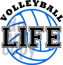 Volleyball Life - Dye Sub Heat Transfer Sheet