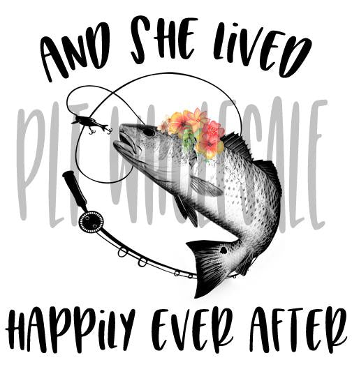 And She Lived Happily Ever After Redfish - Digital Download