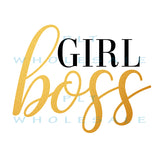 Girl Boss - Dye Sub Heat Transfer Sheet